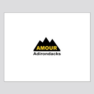 Amour Adirondacks Small Poster