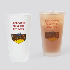 i love geology Pint Glass