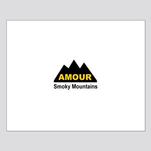 Amour Smoky Mountains Small Poster