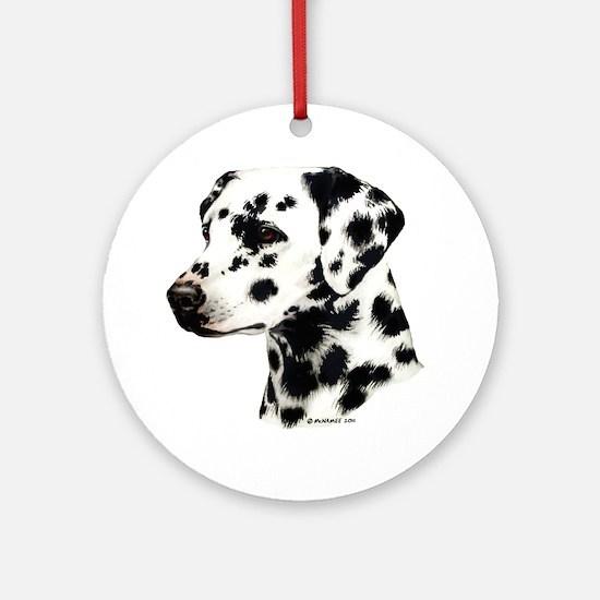 Dalmatian Ornament (Round)