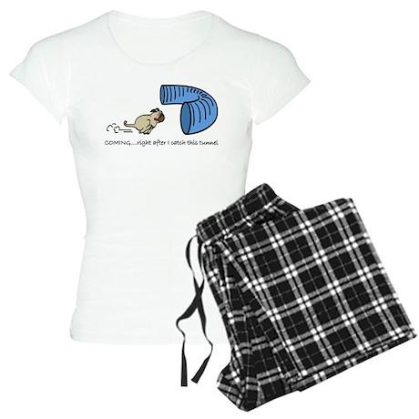 Tunnel Pug Women's Light Pajamas