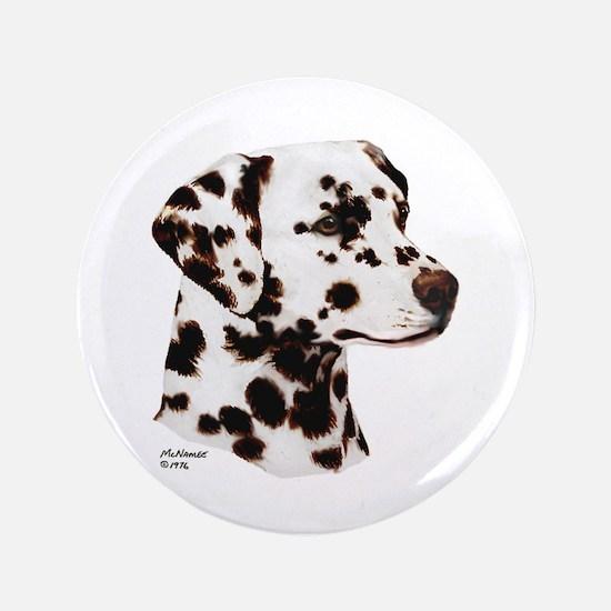 "Dalmatian 3.5"" Button"