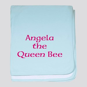 Queen Bee baby blanket