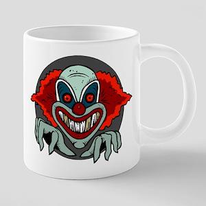 Evil Clown 20 oz Ceramic Mega Mug