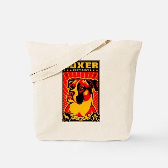 The BOXER Rebellion! Propaganda Tote Bag