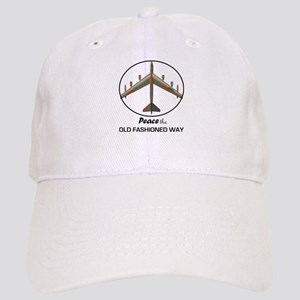 B-52 Peace the Old Fashioned Way Cap