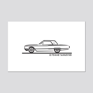 1964 Ford Thunderbird Hard Top Mini Poster Print