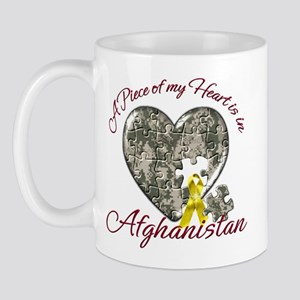 A Piece of my Heart is in Afghanistan Mug
