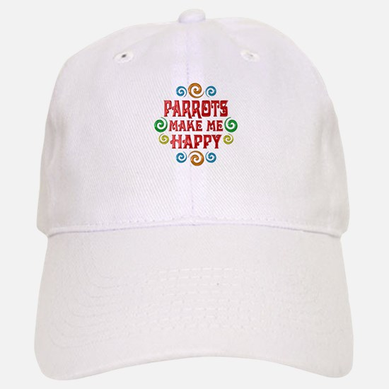Parrot Happiness Baseball Baseball Cap