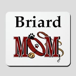 Briard Mom Mousepad