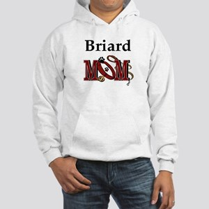 Briard Mom Hooded Sweatshirt