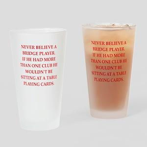 duplicate bridge Pint Glass