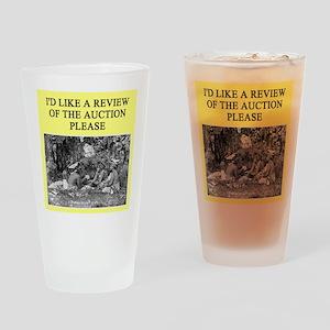 duplicate bridge player gifts Pint Glass