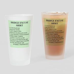 Duplicate bridge gifts Pint Glass