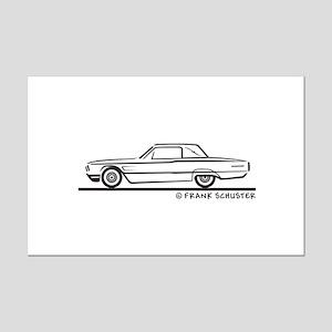 1965 Ford Thunderbird Landau Mini Poster Print