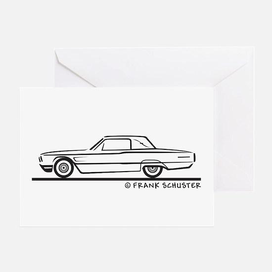 1965 Ford Thunderbird Landau Greeting Card