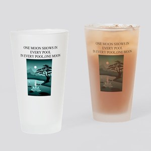 zen buddhist gifts and t0shir Pint Glass