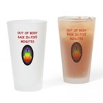 astral projection gifts Pint Glass