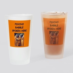 new age psychobabble Pint Glass