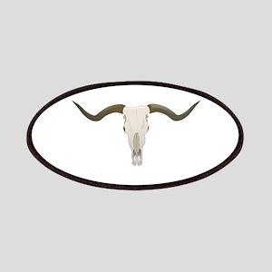 Longhorn Skull Symbol Patches