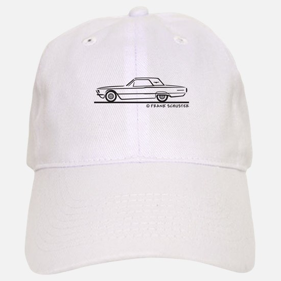 1966 Ford Thunderbird Hard Top Baseball Baseball Cap