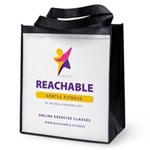 Reachable Fitness Reusable Grocery Tote Bag