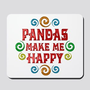 Panda Happiness Mousepad