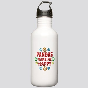 Panda Happiness Stainless Water Bottle 1.0L