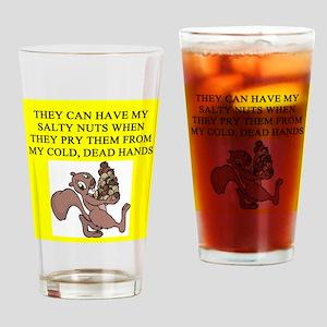food police joke Pint Glass