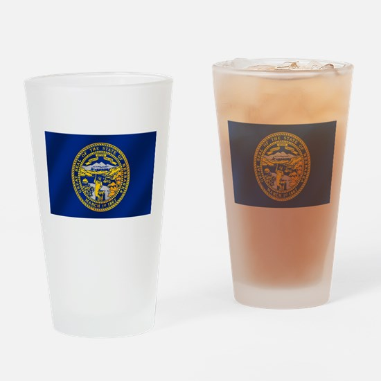 Flag of Nebraska Drinking Glass
