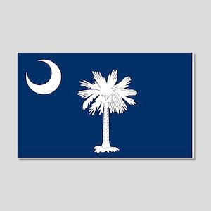 South Carolina Flag 20x12 Wall Decal