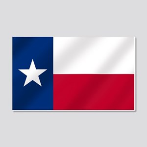 Texas State Flag 20x12 Wall Decal
