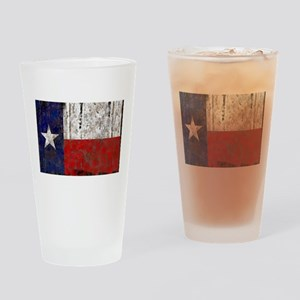 Texas Retro State Flag Pint Glass