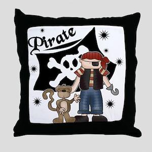 Pirate's Life Throw Pillow