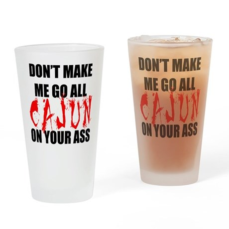 All Cajun Drinking Glass