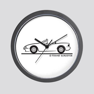 Miata MX-5 Wall Clock
