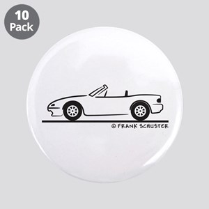 "Miata MX-5 3.5"" Button (10 pack)"