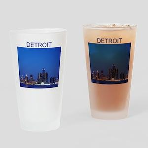 detroit Pint Glass