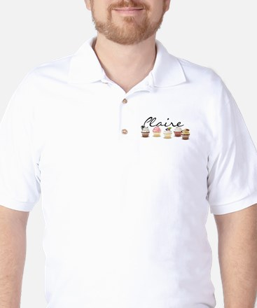 Cupcake Claire Golf Shirt