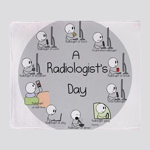 Radiologist's Day Throw Blanket