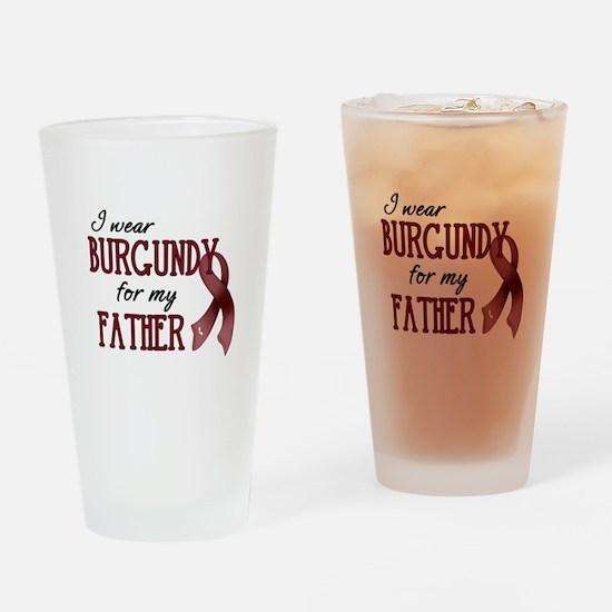 Wear Burgundy - Father Pint Glass