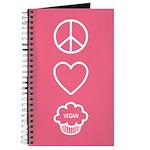 Peace, Love & Vegan Cupcakes Journal