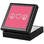 Peace, Love & Vegan Cupcakes Keepsake Box