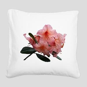 Tortoiseshell Wonder Rhododendron Square Canvas Pi