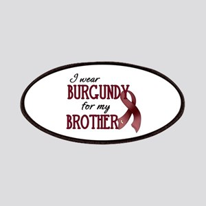 Wear Burgundy - Brother Patches
