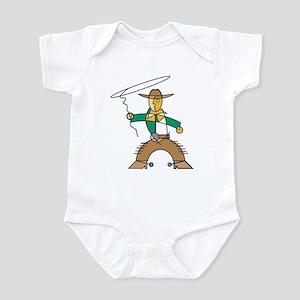 Cowboy Deco Infant Creeper