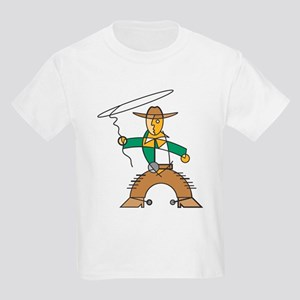 Cowboy Deco Kids T-Shirt