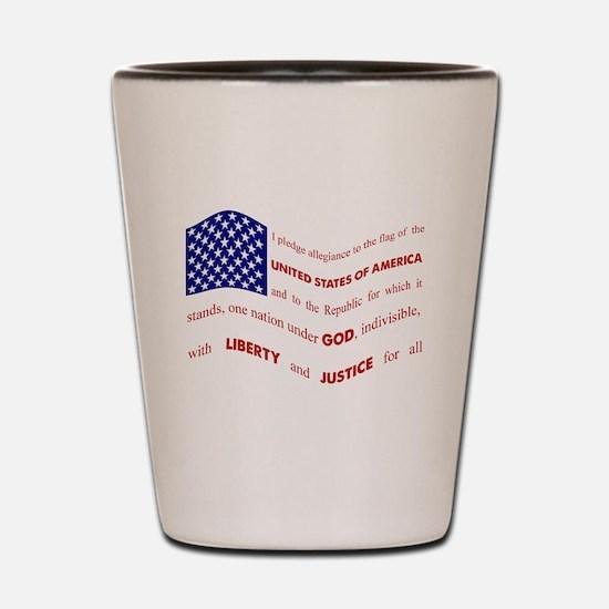 Pledge Shot Glass