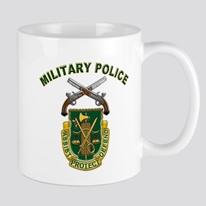 US Army Military Police Crest Mug