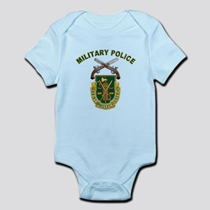 US Army Military Police Crest Infant Bodysuit